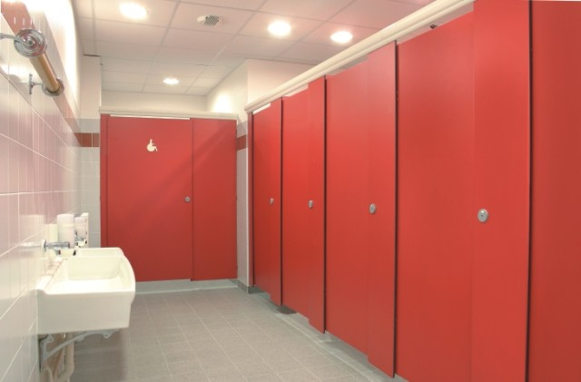 2018 New Luxury Rich Color Hpl Laminate Compact Used For Hpl Public Toilet Cubicle Washroom